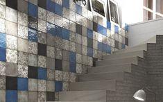 Cement look + brick work + deco art tile work Mixing styles and elements to create spectacular interior spaces.  #30daysofMixedMaterials #designs #designers #designart #designideas #designlovers #designinspo #designinspiration #decor #instadecor #tiles #tileart #tiledesign #tileaddiction #tiletrends #interiorforinspo #interiorlove #interiorforhome #interiorlovers #interiorgoals  #styleguide #stylefile #styleinspo #styledaily  #interiordesignideas #interiordetails #interiordesire