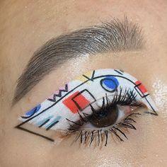 eye makeup art / eye makeup ` eye makeup tutorial ` eye makeup for brown eyes ` eye makeup natural ` eye makeup art ` eye makeup for blue eyes ` eye makeup tips ` eye makeup tutorial for beginners Makeup Eye Looks, Eye Makeup Art, Cute Makeup, Pretty Makeup, Skin Makeup, Beauty Makeup, Face Paint Makeup, Makeup Goals, Makeup Inspo