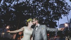 Amazing Wedding Photo with moving images via the use of Gifology from Rocker in Love {Grasi Favoreto and Dani Correa}