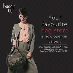 Baggit has geared up to spread passion for fashion among the people of  Jaipur 5554e8615d