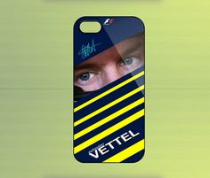 Sebastian Vettel Formula One for iPhone 4/4S iPhone 5 Galaxy S2/S3/S4