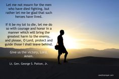 Victory! - Military Prayer - Gen. Patton