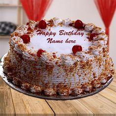 Butterscotch Birthday Wishes Name Cake Photo Send. Happy Birthday Name Cake. Write Name Birthday Pics. New Birthday Cake Status. Print Name Happy Birthday Cake. Happy Birthday Cake Writing, Birthday Cake Write Name, Birthday Wishes With Name, Happy Birthday Cake Pictures, Happy Birthday Wishes Cake, Birthday Cake For Mom, Birthday Cake With Photo, 60th Birthday Cakes, Beautiful Birthday Cakes