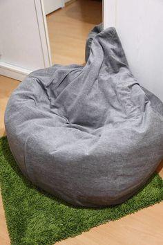 Эксперимент: как добавить наполнителя в кресло-мешок IKEA