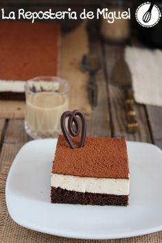 Brownie Mousse de Baileys | La Repostería de Miguel