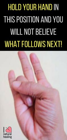 Hold Your Hand In This Position And You Will Not Believe What Follows Next! – Airplus