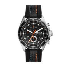 The Official Site for Fossil Watches, Handbags, Jewelry & Accessories Big Men Fashion, Men's Fashion, Authentic Watches, Fossil Watches, Watch Case, Modern Man, Men's Collection, Watch Brands, Chronograph