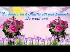 Superb mesaj video felicitare de 8 MARTIE - Ziua Femeii - YouTube 8 Martie, Floral Wreath, Wealth, Moon, Google, Fit, Youtube, Happy Woman Day, The Moon
