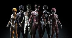 Power Rangers Redesign Artwork by Carlos Dattoli