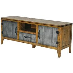 The Tin Man 2 door TV Stand is a tasteful mix of contemporary industrial meets rustic character. Immaculately crafted, the smokehouse antique iron melds beautifully with the rustic mango timber top and framing. Living Furniture, Tin Man, Rustic Furniture, 2 Door Tv Stand, Timber, Furniture, Tv Stand, Tasteful, Contemporary