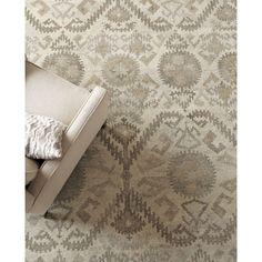 CRATE & BARREL 8'x10' Orissa Persian Rug Handmade Woolen Area Carpet #CrateBarrel #Transitional