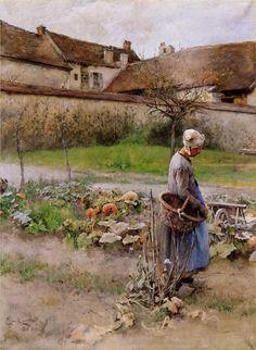 Οκτώβριος (Οι κολοκύθες) - Ο Carl Larsson