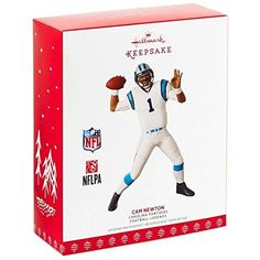Hallmark Keepsake 2017 Football Legends Carolina Panthers Cam Newton Christmas Ornament #Hallmark #Keepsake #Football #Legends #Carolina #Panthers #Newton #Christmas #Ornament