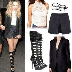 Perrie Edwards steal her style