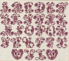 Alphabet roses de AMAP