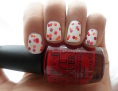 summery and not too hard. she said she used a dull pencil tip for a dotting tool.