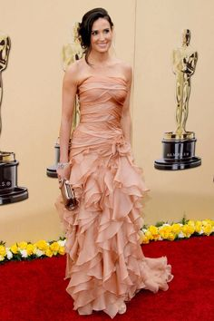 The 100 Best Red Carpet Gowns: Demi Moore In Atelier Versace At Academy Awards in 2010