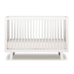 With its wide range of finishes, this stylish and versatile crib will co-ordinate with any nursery decor. Slim side rails and spindles give this crib a light, airy feel and make it a favorite of interior designers. Its high quality and sturdy construction means it will last for generations.    This item is GREENGUARD Gold certified.
