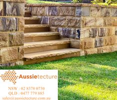 Aussietecure produces significant quantities of specialty cut to size stone products: wall claddings, Australian sandstone blocks, capping, tiles & pavers Sandstone Fireplace, Sandstone Wall, Sandstone Paving, Patio Design, Garden Design, Sandstone Cladding, Stone Quarry, Stone Supplier, Block Wall