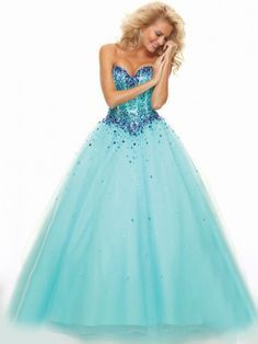 BALL GOWN BEADED SWEETHEART LACE-UP SLEEVELESS FLOOR LENGTH TULLE PROM DRESS WITH SEQUIN