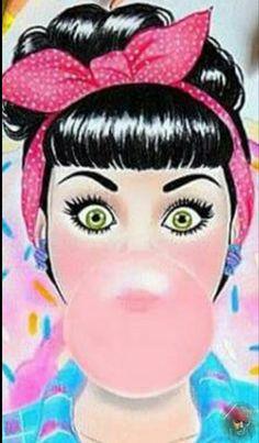 Dibujos Pin Up, Look Rockabilly, Pop Art Women, Pop Art Wallpaper, Pop Art Illustration, Illustrations, Pop Art Girl, Pin Up Art, Retro Art