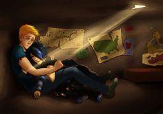 Luke and Thalia in the safe house <---- I ship Thaluke!