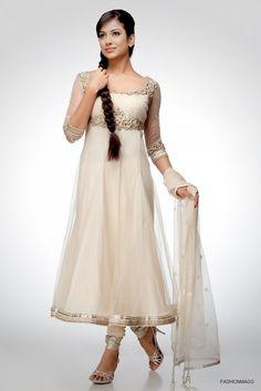 white dress suits | ... Style: Anarkali Umbrella Frocks-Anarkali Fancy Frock Dress Suits 2013