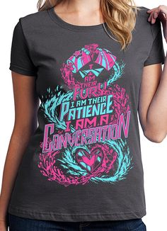 Camiseta del universo de Steven - soy una camiseta de conversación - Steven universo camisa granate - más fuerte que la camisa de la canción - rubí y zafiro