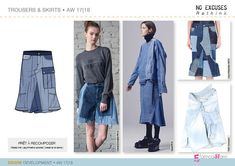 5forecaStore : NO EXCUSES | Rethink Trend, DENIM Development A/W 2017-18 - Tendances (#687893)
