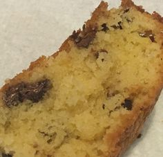 Chocolate-Chip Round Loaf - best served with a cup of tea