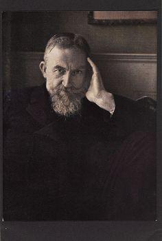 Edward Steichen, G. Bernard Shaw, 1908