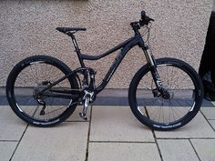 Picked up my new trance today. This is my first full sus and rides really well! (Phone pics - Deal with it! Mountain Bicycle, Mountain Biking, Giant Trance, Giant Bikes, Off Road Cycling, Bicycle Maintenance, Cool Bike Accessories, Bicycle Design, Cool Bikes