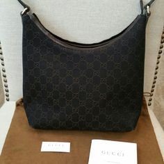 Authentic Small Dark Brown Gucci Purse New, forgot I had this! Sat in a container in my closet!  NO lowballers! Comes with Gucci dust bag. It has the date code. See in pics! Make OFFER! Gucci Bags Shoulder Bags