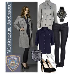 Detective Kate Beckett, NYPD - Polyvore
