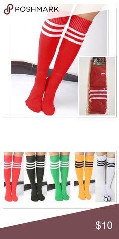 043fcc53f Knee-hi Sports Socks Women s lightweight knee-hi sports tube socks