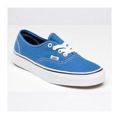 Vans Authentic Shoes WomensMens Classic Canvas Sneakers Sky Blue  [vans4u4027] - $39.99 : Vans
