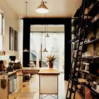Now rented out as an office/retail space, the lower level of this San Francisco Victorian renovation contains a kitchen, which is fitted ...
