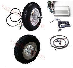 "10""  500W 24V electric scooter hub motor , electric wheelchair motor kit , electric skateboard conversion kit"