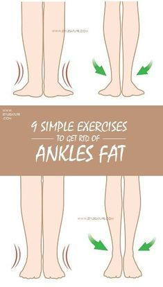 9 Best Exercises to Get Rid of Ankles Fat Body fitness is very important to every man and women to be healthy. Along with food habits do exercises to get rid of ankles fat for better fitness. Fitness Workouts, Easy Workouts, At Home Workouts, Fitness Hacks, Fitness Routines, Fitness Motivation, Health Fitness, Quick Weight Loss Tips, Weight Loss Challenge
