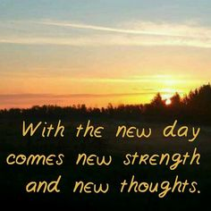#goodmorningparkland With the new day comes new strength and new thoughts.