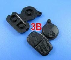 Remote Key Rubber 3 Button for BM-W BM  50PCS