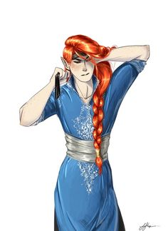 I may have a slight obsession with Mairon (credit to frecklesordirt on deviantart)