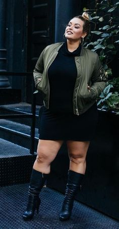 Curvy Girl Fashion Outfits, Plus sized clothing, fashion tips, plus size fall wardrobe and refashion. Fall and Autmn Fashion Outfits Trends for Plus Size. Curvy Outfits, Plus Size Outfits, Plus Size Dresses, Girl Outfits, Fashion Outfits, Fashion Ideas, Spring Outfits, Mode Club, Xl Mode