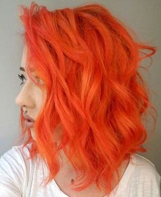 Orange Hair - Red Hair Ideas To Try This Spring - Photos