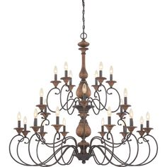 Buy the Quoizel Rustic Black Direct. Shop for the Quoizel Rustic Black Auburn 24 Light 3 Tier Chandelier and save. Foyer Chandelier, Black Chandelier, Chandelier Lighting, Chandelier Ideas, Auburn, Quoizel Lighting, Candelabra Bulbs, Black Candelabra, Home Plans