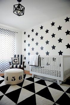 Blanco Interiores: P&B no quarto desta gaiata!