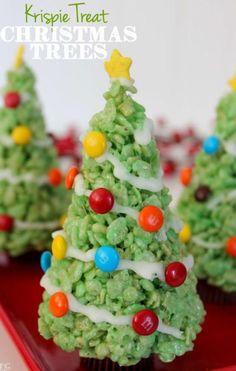 Rice Bubbles / Rice Krispies Christmas Tree Treats