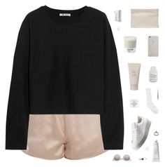 """i find it hard to say goodbye"" by moonlight-baby ❤ liked on Polyvore featuring T By Alexander Wang, Burberry, Acne Studios, Frette, Pantone, Jewel Exclusive, Puma, Byredo, Gathering Eye and Monki"