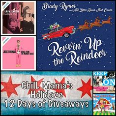 ChiIL Mama: ChiIL Mama's Holidaze Giveaways 9: 6 Kindie Album Downloads Collection ($56/2 Winners) AND 4 Little Miss Ann Concert Tickets ($40)