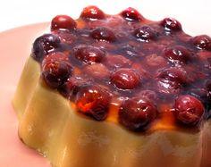 Godiva Chocolate liqueur and cherry jello mold